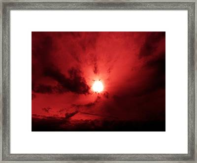 Divine Energy Framed Print by Micael Pace