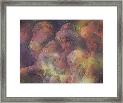 Divine Event Digital Artwork Framed Print