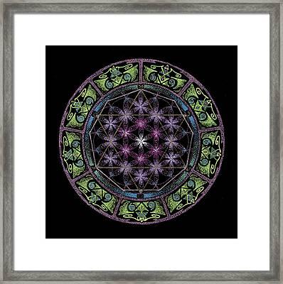 Divine Feminine Energy Framed Print