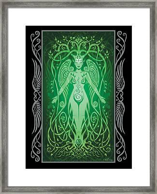 Divine Life V.2 Framed Print by Cristina McAllister