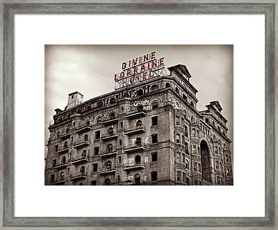 Divine Lorraine Framed Print