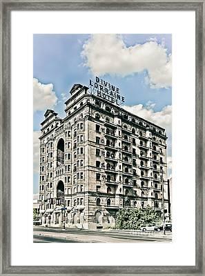 Divine Lorraine Hotel Framed Print