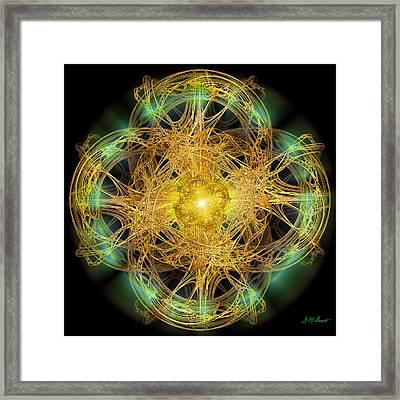 Divine Meditation Framed Print