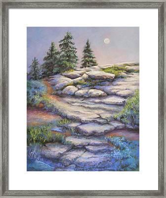 Divine Moonshine Framed Print