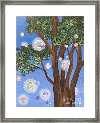 Divine Possibilities Framed Print by Cheryl Bailey