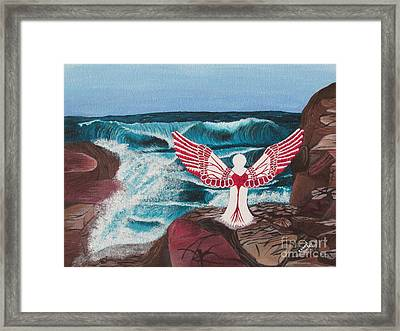 Divine Power Framed Print by Cheryl Bailey