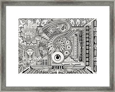 Divine Resonance Framed Print by Christopher Sheehan