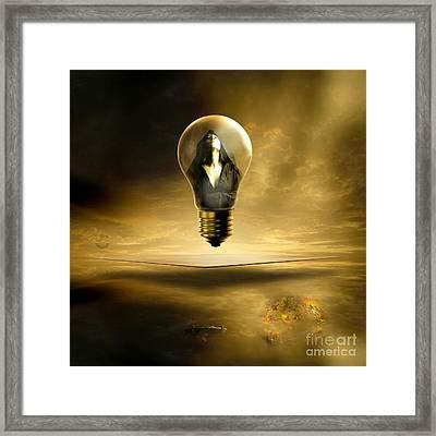 Divine Silence Framed Print