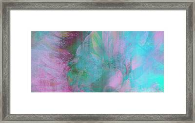 Divine Substance - Abstract Art Framed Print