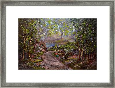 Divine Sunshine Framed Print by Michael Mrozik