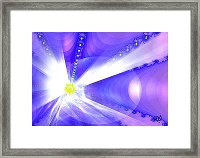 Divine Vision Framed Print by Ute Posegga-Rudel