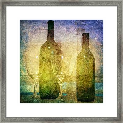 Framed Print featuring the photograph Divine Wine by Judy Hall-Folde
