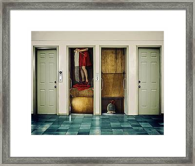 Diving Deep Framed Print