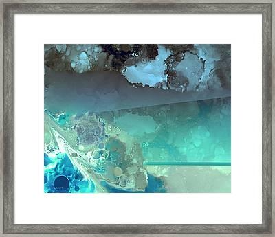 Diving Deep Framed Print by Steve Godleski