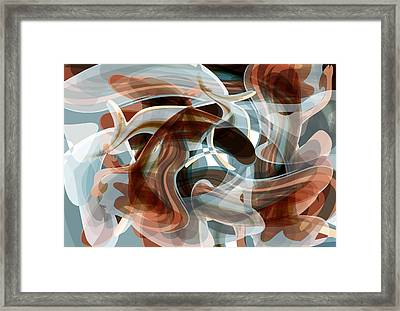 Diving Into Your Ocean 1 Framed Print by Angelina Vick
