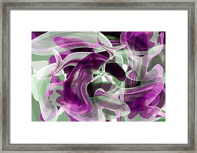Diving Into Your Ocean 2 Framed Print by Angelina Vick