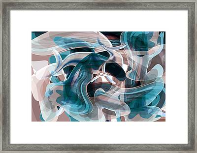 Diving Into Your Ocean 3 Framed Print by Angelina Vick