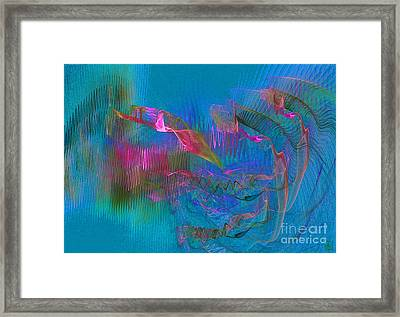 Diving Framed Print
