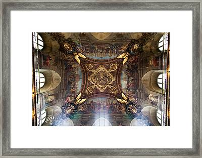 Divinity Framed Print by Aaron Aldrich