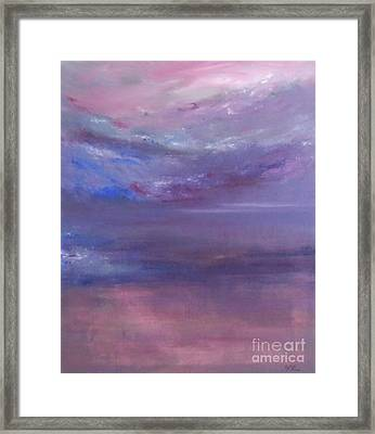 Divinity Framed Print by Jane  See