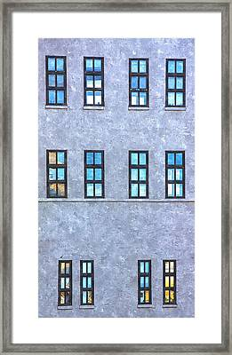 Division Framed Print by KM Corcoran