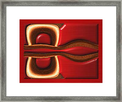 Divisionary Tactic Framed Print by Wendy J St Christopher