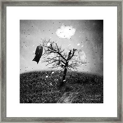 Divorce Framed Print by Cristina Venedict