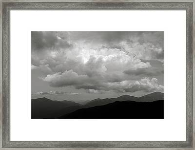 Dix Mt View Framed Print