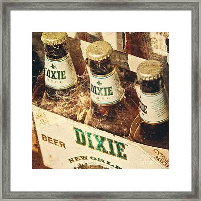 Dixie Beer Framed Print by Scott Pellegrin