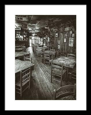 Saloon Framed Prints