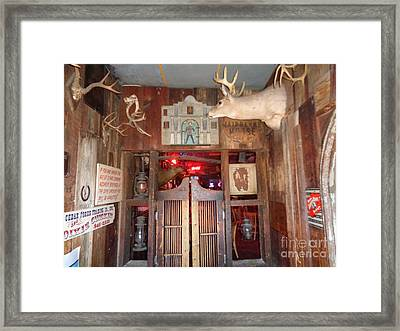 Dixie Chicken Texas Am University Framed Print by Chuck Taylor