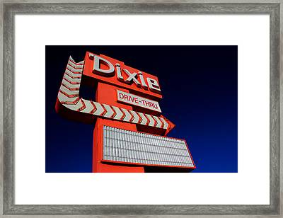 Dixie Drive Thru Framed Print