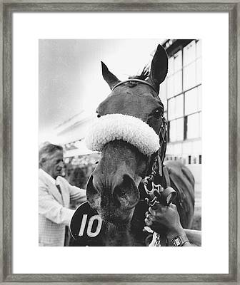 Dixieland Band Vintage Horse Racing Framed Print by Retro Images Archive