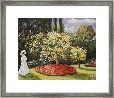 Dixie's Garden Framed Print