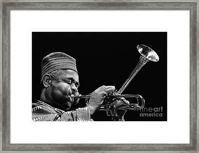 Dizzy Gellespies Horn Framed Print