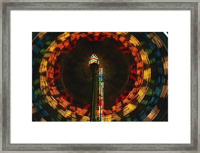Dizzy II Framed Print by George Buxbaum