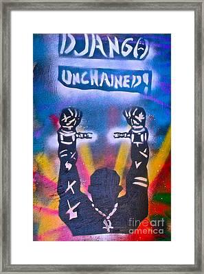 Django Unchained 2 Framed Print by Tony B Conscious