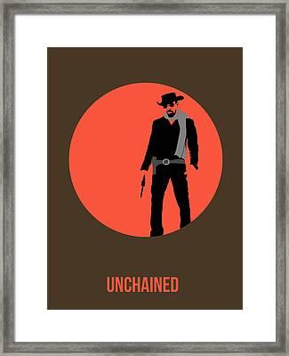 Django Unchained Poster 1 Framed Print by Naxart Studio
