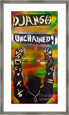 Django Unchained Framed Print by Tony B Conscious