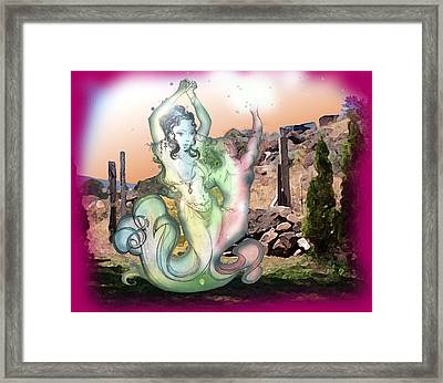 Djinn Dance Framed Print