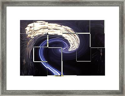 Djinn Traveling At Night Framed Print