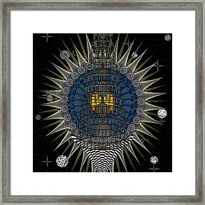 Dna Prophecy Framed Print by Ron Jones
