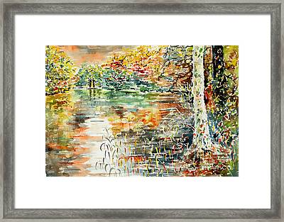 Do Not Forget To Pay The Ferryman Framed Print