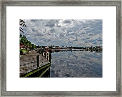 Do We Have Clouds Framed Print by Dennis Dugan
