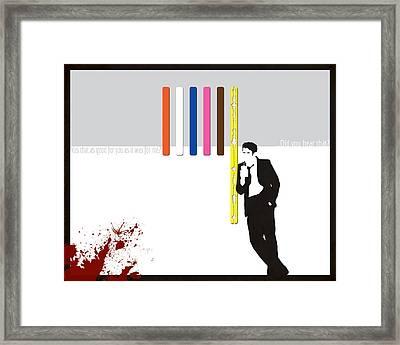 Do You Hear That Framed Print by Dak Mannella