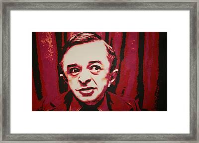 Do You Know Who I Am Framed Print