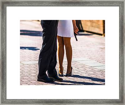 Do You Love Me? - Featured 3 Framed Print by Alexander Senin