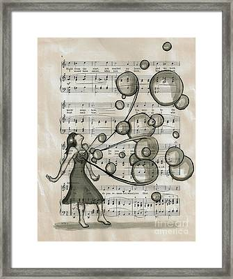 Do You Remember Framed Print by Lucy Stephens