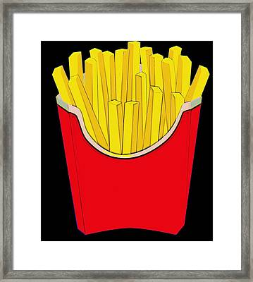 Do You Want Fries With That Framed Print by Florian Rodarte