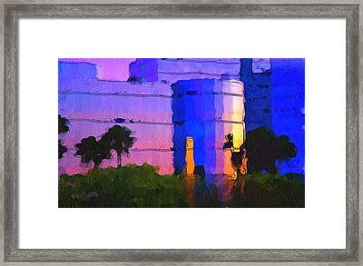 Do You Want To Work Here? Framed Print by Yury Malkov